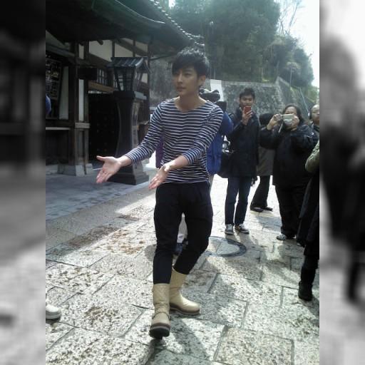 愛媛の道後温泉で台湾ドラマ「アリスへの奇跡」 俳優の炎亞綸さんら記者会見 | CUTPLAZA DIARY