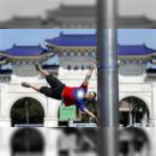 台湾のサイクリストが観光名所で「空中浮遊」、海外遠征も検討 | 世界のこぼれ話 | Reuters