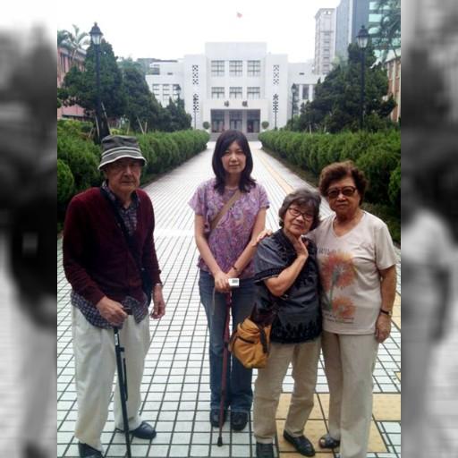 「母校は台北第二高女」、日本の80代女性が訪台