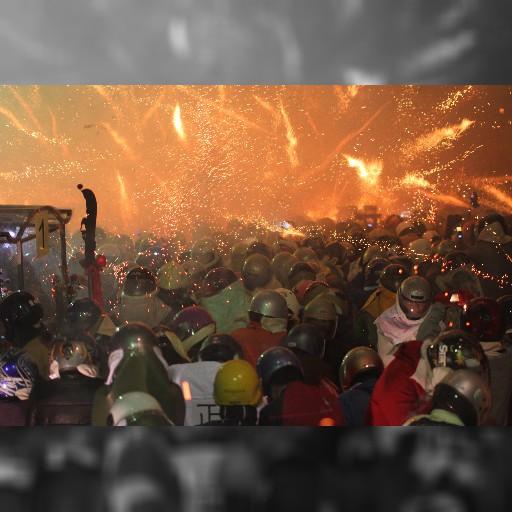 台南の爆竹祭り、今夜がクライマックス-中央社日文新聞