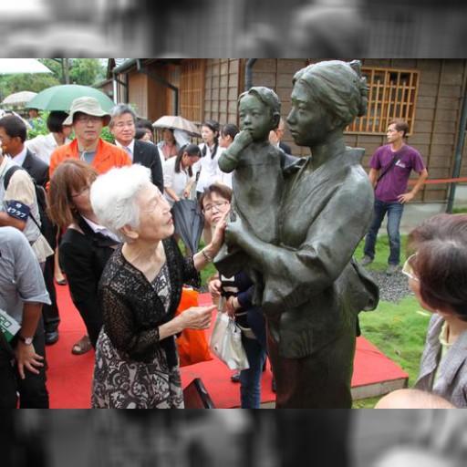 八田技師の妻、外代樹夫人の銅像除幕式/台湾・台南 | 社会 | 中央社フォーカス台湾