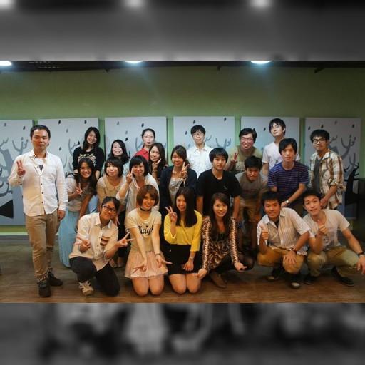 台湾大学 日本人会が新入生歓迎会をしました。