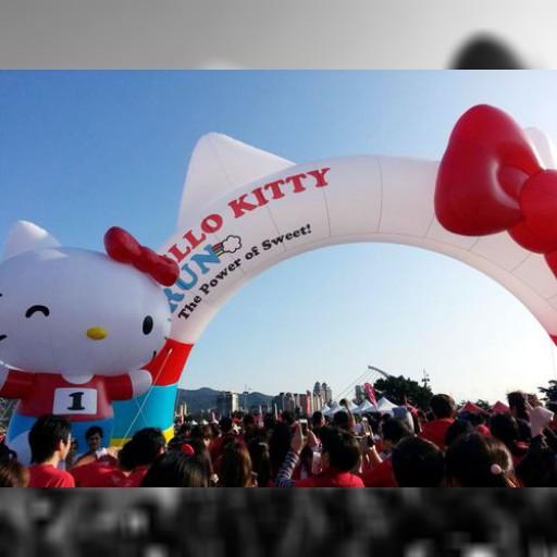 台北で「ハローキティ・ラン」初開催、ファンら「可愛い」と満足げ/台湾 | 芸能スポーツ | 中央社フォーカス台湾