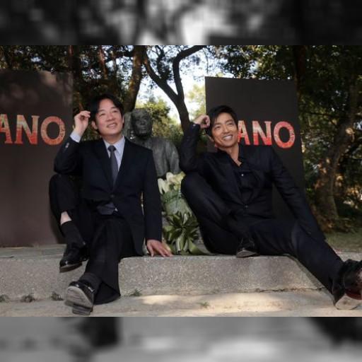 映画「KANO」のPRで大沢たかおと台南市長がツーショット/台湾 | 芸能スポーツ | 中央社フォーカス台湾