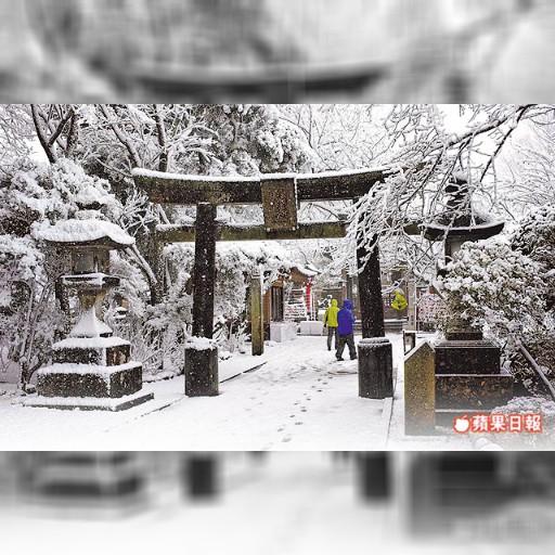 暴雪襲日 停740航班 | 蘋果日報