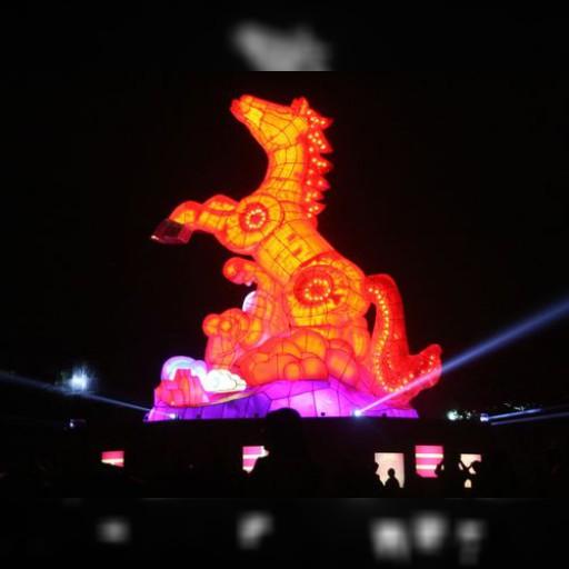 元宵節の風物詩・台湾ランタンフェスティバル 今夜試験点灯   観光   中央社フォーカス台湾