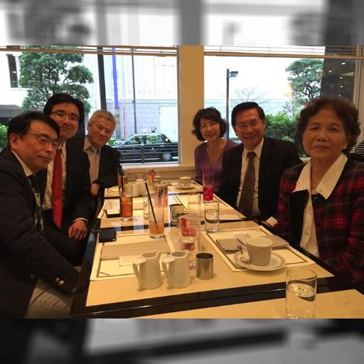 来日中の涂醒哲 嘉義市長と中京大学が会合をしました。