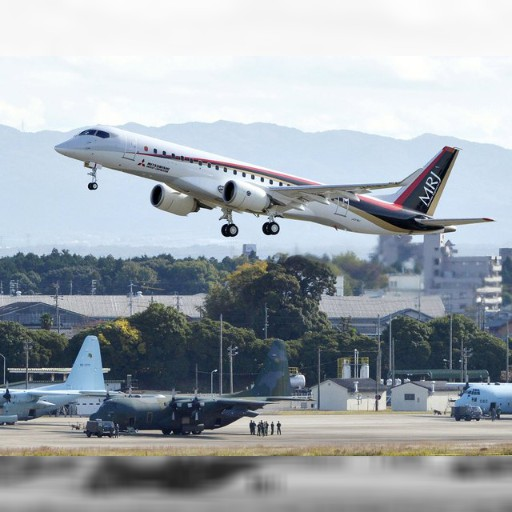 相隔半世紀 日本首架自製客機試飛 | 即時新聞 | 20151111 | 蘋果日報