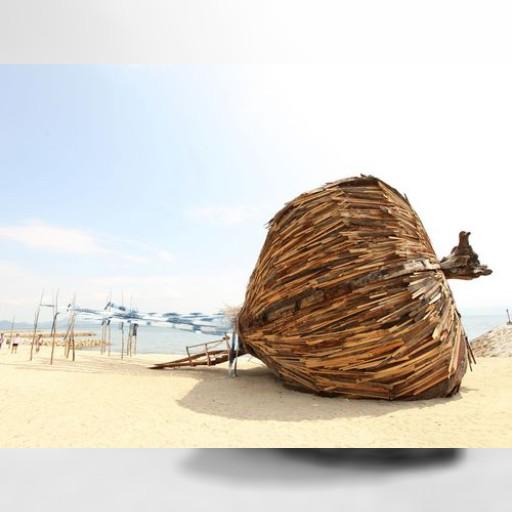 瀬戸内国際芸術祭 台湾芸術家2氏の作品、注目集める | 社会 | 中央社フォーカス台湾