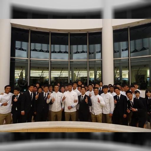 嘉農棒球隊來中京大學!