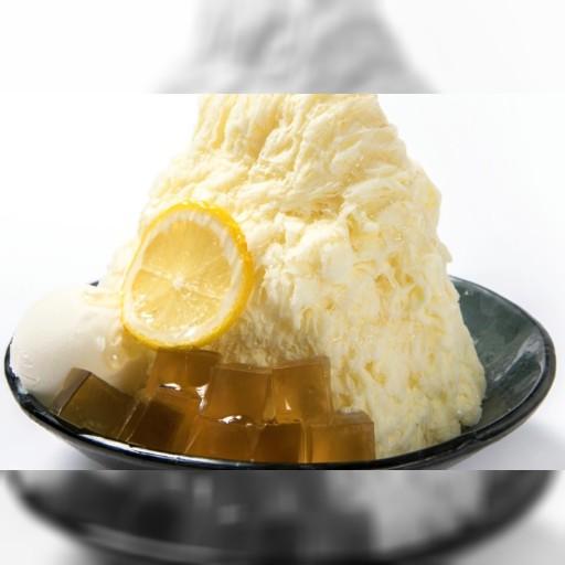 台湾かき氷のアイスモンスターに秋限定「ハニーミルクかき氷」–ヨーグルトアイスとレモンスライスでさっぱり!