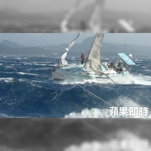 日籍帆船墾丁海域失動力 海巡救援5人 | 即時新聞 | 20161223 | 蘋果日報