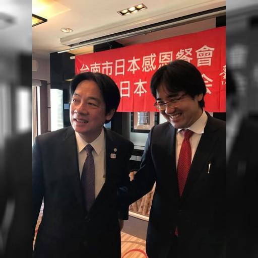 賴清德台南市長來了!