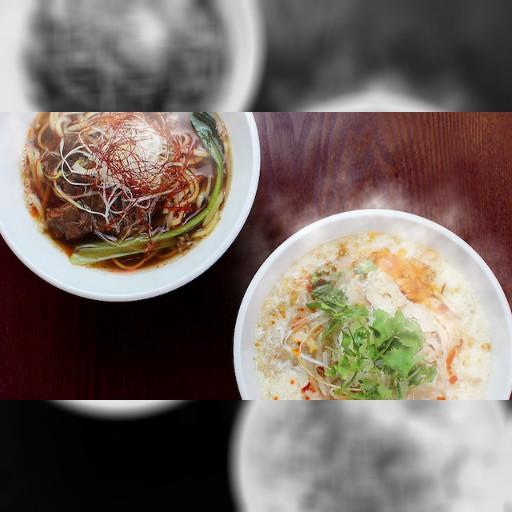 台湾のローカルヌードルふるふる豆乳の「豆漿鶏湯麺」と「麻辣牛肉麺」が登場