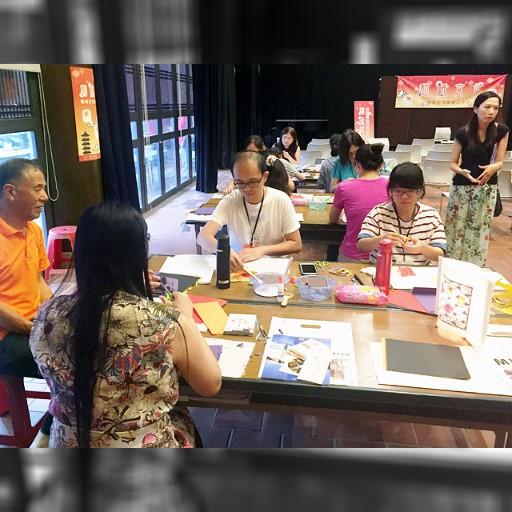 和紙文化、海越え交流 美濃市の工芸家ら台湾で指導