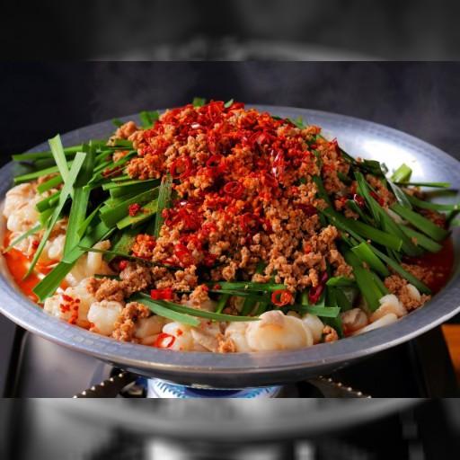 """名物「台湾もつ鍋」がいまだけ半額!〆は「ピリ辛鶏ガラスープ」で""""台湾ラーメン""""がオススメ – うまい肉"""