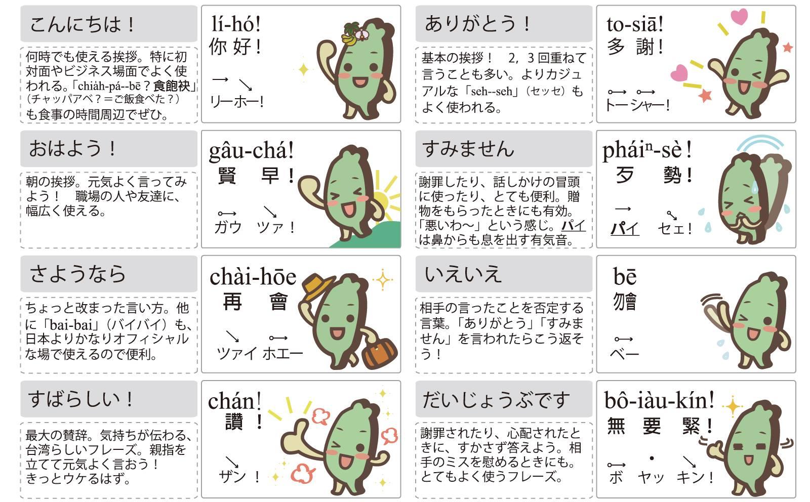 今こそ、「台湾語(ホーロー語)」を「台湾語Tâi-oân-ōe,Tâi-gí/たいわんご」と呼んでいこう!