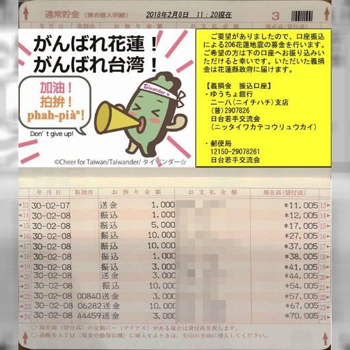 【募金状況報告 2/8 11:20現在】