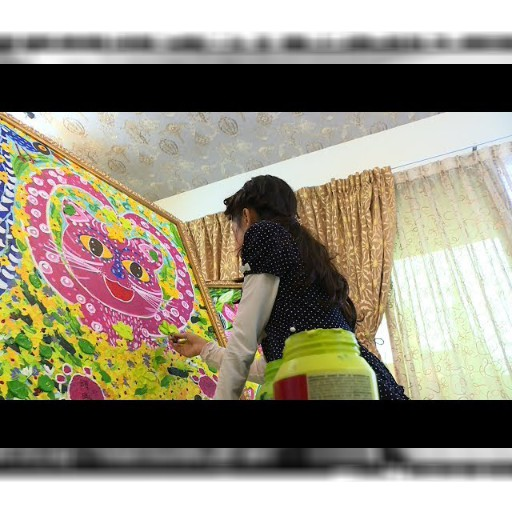 十歲小畫家陳曦 3月名古屋機場辦畫展 – 公視中晝新聞