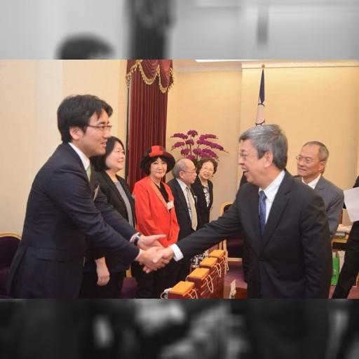 皆様から預かった義援金は無事に台湾総統府に渡りました。